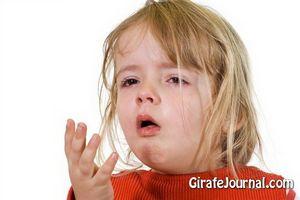 Внезапный кашель у ребенка
